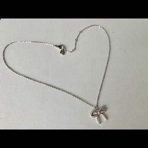 Swarovski Jewelry - Authentic Swarovski Crystal Bow Necklace